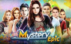 Miystery Epic é um jogo quebra-cabeças online do facebook para procurar objetos escondidos, onde você joga com um personagem misterioso.