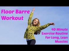 It's a great day for a workout! Join me for this 40 minute intermediate floor barre exercise video and build total body strength and length… Ballet Barre Workout, Barre Workout Video, Pilates Barre, Pilates Workout, Bodyweight Strength Training, Cross Training Workouts, Hotel Workout, Travel Workout, Workout Plan For Men