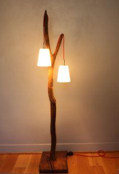 15 Meilleures Images Du Tableau Lampadaire Bois Flotte Driftwood