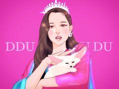 Kpop Fanart, Kpop Posters, Blackpink And Bts, Line Friends, Fan Art, Illustration, Disney Characters, Fictional Characters, Aurora Sleeping Beauty