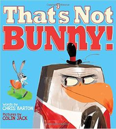 That's Not Bunny! by Chris Barton https://www.amazon.com/dp/1423190866/ref=cm_sw_r_pi_dp_x_1DU7xb1X6PP3R