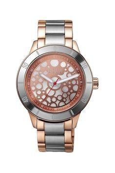 ELLE Time Women's Rose Gold-Tone Stainless Steel Watch on HauteLook