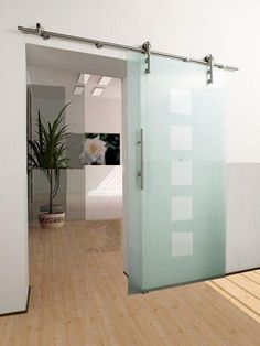 Porta scorrevole vetro satinato | Home and decor | Pinterest | Doors ...