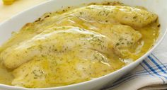 Try a new recipe for versatile tilapia  baked in a casserole with a lemon butter dill sauce.