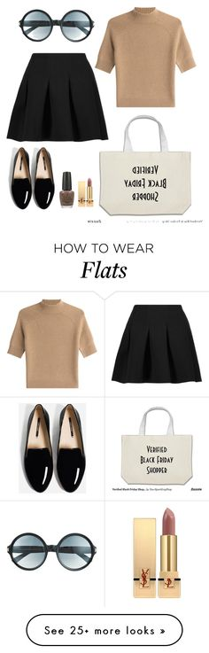 """""""60/70s vibes ~"""" by gise-roldan on Polyvore featuring T By Alexander Wang, Theory, Tom Ford, Yves Saint Laurent and OPI"""