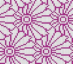 Crochet Patterns Ravelry Ravelry: Project Gallery for Chrysantheme pattern by Sabine Naumann Knitting Charts, Loom Knitting, Knitting Stitches, Knitting Designs, Knitting Patterns, Kids Knitting, Crocheting Patterns, Knitting Machine, Cross Stitch Charts