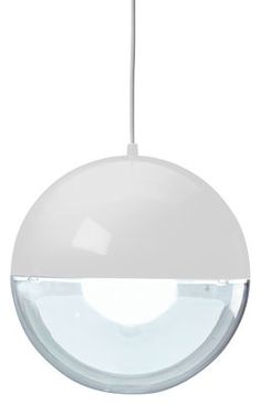 Orion Pendant White / Transparent by Koziol - Design furniture and decoration with Made in Design