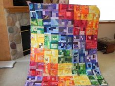 Bell Creek Quilts: The Rainbow Quilt