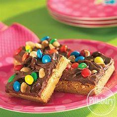 Peanut Butter Fudgy Bars from Pillsbury® Baking