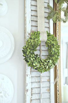 10 Things to do for Christmas NOW! Get a head start so you can be ready and enjoy Christmas this year! Lots of ideas! Christmas Tress, Christmas 2019, All Things Christmas, Christmas Decorations, Shutter Decor, Coastal Wreath, Boxwood Wreath, Wreaths, Deck The Halls