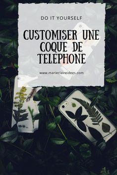 Comment customiser une coque de téléphone / diy coque téléphone