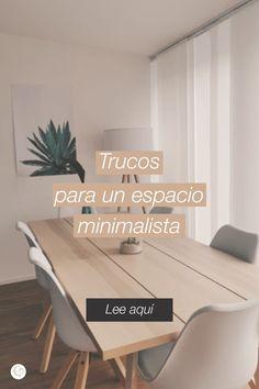 Inmobiliaria Ideas, Diy Home Decor, Room Decor, Interior Decorating, Interior Design, Casablanca, Tattos, Minimalism, Interiors