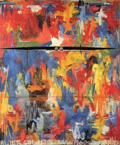 Jasper Johns, Painting with Two Balls, 1960, Philadelphia Museum of Art