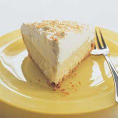 Coconut Cream Pie | Recipe from Cooks Illustrated  (picture from Cooks Illustrated, but link goes to re-posted recipe)