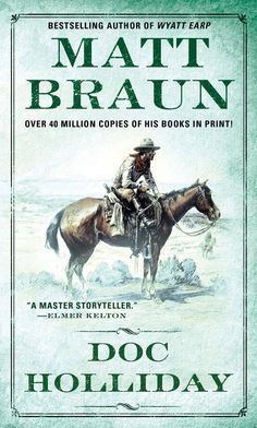I usually don't get into stories of western gunfighters but something about this book drew me to it. It begins when Doc was diagnosed with consumption and takes us through his life as he traveled west to Texas, Colorado, Arizona and on. An extraordinary man without equal. It gave me a new respect for the man called Doc Holliday.