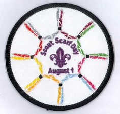 Scout Scarf Day Badge