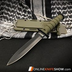 6 TACTICAL COMBAT SURVIVAL Army Spear HUNTING KNIFE Bowie Military Fixed Blade #tacticalknifemilitary #survivalknife