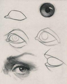 Eye Anatomy, Human Anatomy Drawing, Drawing Eyes, Anatomy Art, Human Eye Drawing, How To Draw Anatomy, Anatomy For Artists, Drawing Art, Pencil Art Drawings