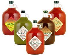 ¡Galones de Tabascou!
