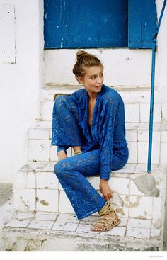 """Los Angeles-based label Mlle has launched its spring 2015 campaign starring Cailin Russo. The images were shot on-location in Formentera, Spain, by Henrik Purienne. Enjoying the hot sun, Cailin hits the sand and water wearing 70s inspired looks that designer Kaya B. developed thanks to a """"personal collection of 70s and 80s Vogue magazine archives, along with high society images of photographer of Slim Aarons."""" Discover more from ..."""