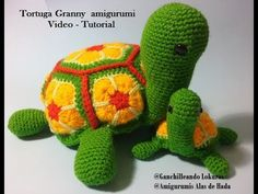 Granny Tortuga - video tutorial amigurumi - YouTube