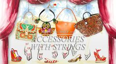 Dolce Runway Womenswear Accessories with Strings SS13