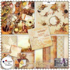 Couleurs d'automne - Collection by Pat's Scrap
