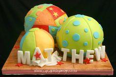 balls cake
