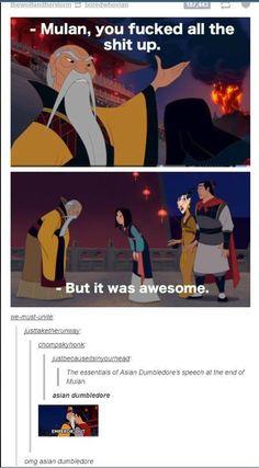 OMFG I LOVE SASSY EMPEROR!!!!!!!!!!! <<< SASSY ASIAN DUMBLEDORE