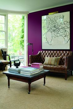A Flash Of Color Benjamin Moore Colors, Benjamin Moore Paint, Color Trends,  Paint