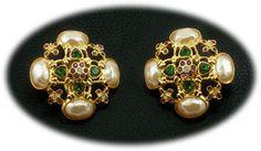 Elizabeth Taylor Forever Violet earrings SOLD http://www.grannysjewelrybox.com/si4013.shtml