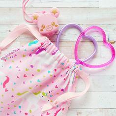 2d291afcf79df3 Unicorn Tote Bag Drawstring Pouch Pink Kids Bag Unicorns Kawaii Fairy Kei  Bags