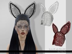 The Sims Resource: Sugar Headband by LeahLilith • Sims 4 Downloads