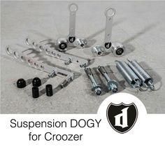 Suspension DOGY for bicycle trailers Croozer and XLC