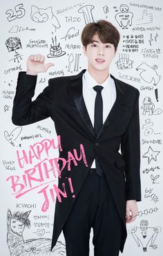 HappyJINday #BTS