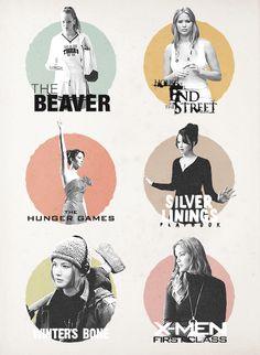 FILMOGRAPHY: Jennifer Lawrence