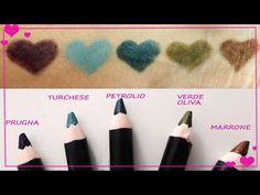 Crea le tue matite occhi - YouTube