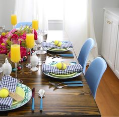 style stealer: an easter tablescape that screams spring