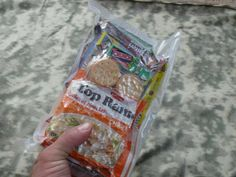 A great tutorial for creating MREs, which are those freeze-dried meals that members of the military eat!