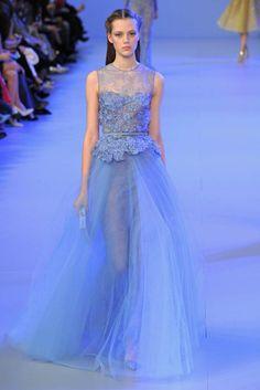 Paris Fashion Week 2014 high set: Watch Elie Saab spring show