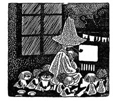 Tove Jansson, Midsummer Madness, in which snufkin wrecks a park and adopts 24 orphaned children this is easily one of the cutest parts of the moomin books Moomin Books, Moomin Valley, Tove Jansson, Literary Tattoos, Friends Show, Illustration Art, Book Illustrations, Fairy Tales, Cool Art