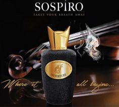 Opera Sospiro Perfumes / Oriental Floral / 2014 / Chris Maurice / Top notes: Fruity and Turkish rose; heart notes: ylang-Ylang, ambergris, Leather and Nutmeg; base notes: Patchouli, virginian cedar, Vetiver, Vanilla and Musk.