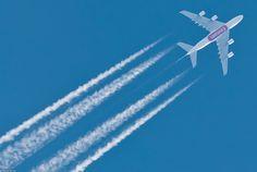#Emirates Airline Airbus A380-861