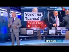 """Russian TV News Asks: """"Will They Kill Trump?"""""""