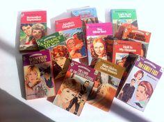 Dozen Harlequin Romance Novels Retro Beach Reads 1970's 1980's Love Stories by Pesserae on Etsy