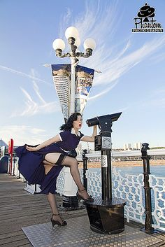 The lovely Katie from the Brighton Collectif shop. | Flickr - Photo Sharing!