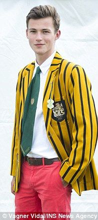 Jack Barden De Lacroix British regatta blazers http://www.dailymail.co.uk/femail/article-2356897/Blazer-glory-Men-make-style-statement-jackets-Henley-Royal-regatta-dont-look-closely-stains-badge-honour.html