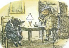 WIND IN THE WILLOWS - They went and foraged - Ernest H. Shepard Eh Shepard, Animal Pictures, Cute Pictures, Children's Book Illustration, Book Illustrations, English Artists, Children's Picture Books, Beatrix Potter, Ink Art