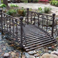 Delightful Find It At The Foundary   Windsor 4 Ft. Metal Garden Bridge Nice, Perhaps A  Bridge Into A Secrect Garden?