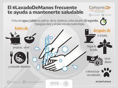 Lavar bien tus manos con #agua y jabón puede ahorrarte gastos en #medicamentos y visitas innecesarias al doctor